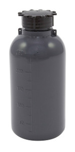 Lockable (Tamper Evident) Security Bottles, Graduated, LDPE, 250mL, case/50
