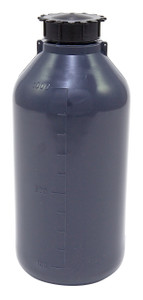 Lockable (Tamper Evident) Security Bottles, Graduated, LDPE, 1000mL, case/10