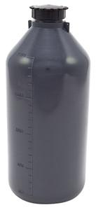 Lockable (Tamper Evident) Security Bottles, Graduated, LDPE, 2000mL, case/2