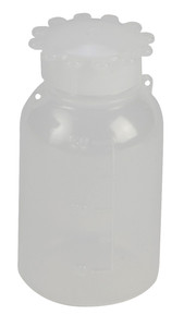 Lockable (Tamper Evident) Security Bottles, Graduated, LDPE, 50mL, pack/10
