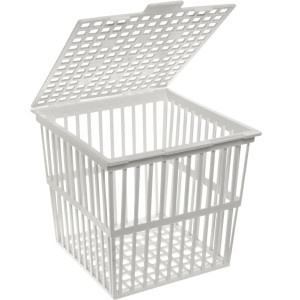 Nalgene Autoclaving Basket, Polypropylene, 233 x 230 x 239mm, case/6
