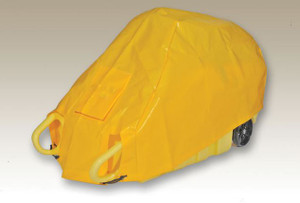 Tarp, Dolly Cover for Eagle Drum Dollies, Yellow
