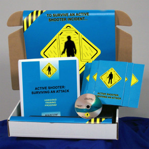 Safety Training: Active Shooter: Surviving an Attack Safety Meeting Kit