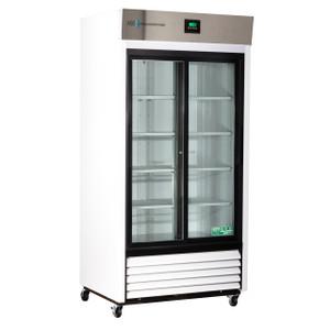 Premier Laboratory Double Slide Glass Door Refrigerator 33 Cu. Ft.