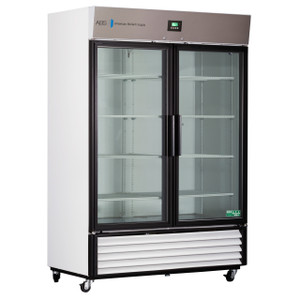 Premier Laboratory Double Swing Glass Door Refrigerator 49 Cu. Ft.