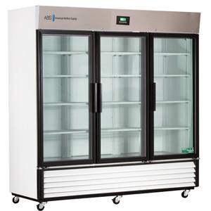 Premier Laboratory Triple Slide Glass Door Refrigerator 69 Cu. Ft.