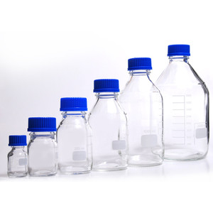 Media Bottles, 2,000mL, GL-45, Blue Cap, Schott, case/10