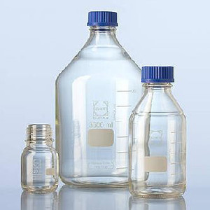 Media Bottles, 10,000mL, GL-45, Blue Cap, Schott, Each