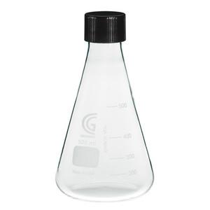 CG-1543-09 6000mL Erlenmeyer Flask, 38-430 GPI Screw Thread, Each