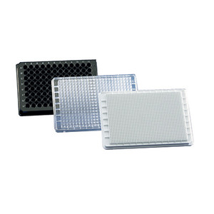 Cell Culture Microplate 96 Well Plate, white, cellGrade premium, Trans F-Bottom, Pack/50