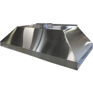 "HEMCO 13180 Wall Canopy Hood, Stainless Steel, 96"" x 30"" x 18"""