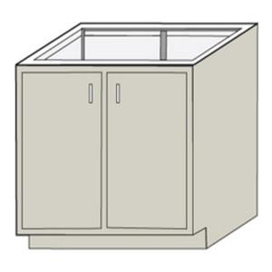 "HEMCO 53011 Standard Base Cabinet, 30"" x 22"" x 35"""