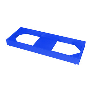 Stak-a-Cab Floor Stand for Stacking SciMatCo Cabinets, Blue