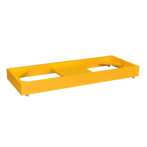 Stak-a-Cab Floor Stand for Stacking SciMatCo Cabinets, Yellow