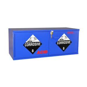"Non-Metallic Wood Acid Cabinet, 47"" x 18"" Stak-a-Cab Acid Cabinet"