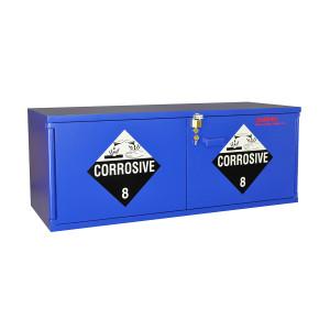 "Non-Metallic Wood Acid Cabinet, 47"" x 18"" Stak-a-Cab Corrosive Cabinet"