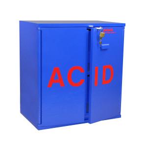 "Non-Metallic Wood Acid Cabinet, 30"" x 32"" EconaCab Acid Cabinet"