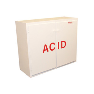 "Non-Metallic Poly Acid Cabinet, 40"" Tall Acid Cabinet"