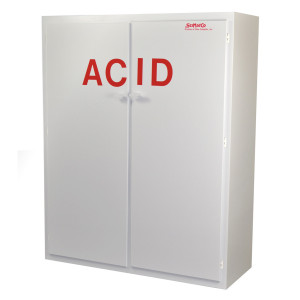 "Non-Metallic Poly Acid Cabinet, 60"" Tall Acid Cabinet"