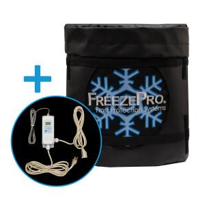 FreezePro Drum Insulation Jacket 45in x 15in & ETC Temp Controller