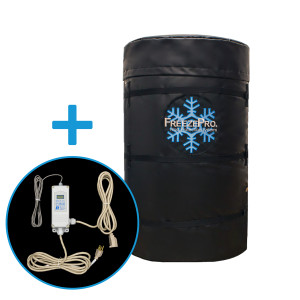 "FreezePro Drum Insulation Jacket 78"" x 34"" & ETC Temp Controller"