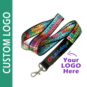 Custom logo lanyards for tradeshows and schools