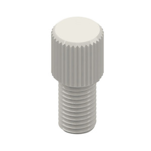 Replacement Plugs for standard port caps, 1/4-28 hole, pack/10