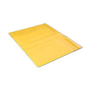 Poly liner Bags, for Solid Waste Container, Yellow, case/250