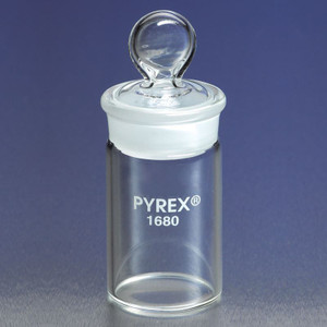 Chemglass CG-8122-3060 30mL 30mm x 60mm 29/12 Joint Weighing Bottle