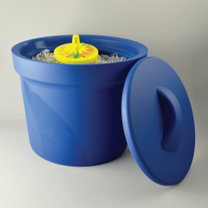 Ice Pan, Magic Touch 2 Ice Bucket with Lid, 4L Each