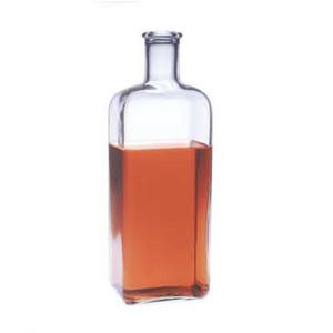 Kimble Povitsky Bottle, 5 Liter Rectangular, Type I Glass