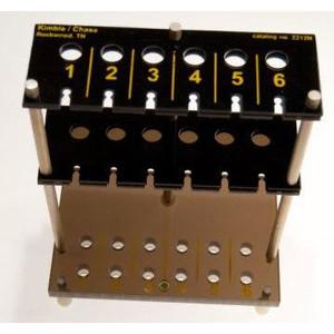 Kimble 10-Slot, Sedimentation Tube Racks