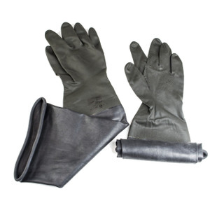 Glove Box For 8 In. Glove Ports Economy Sleeved Gloves