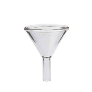 "Kimble 1-1/2"" Stem Powder Addition Funnels, 150ml, Case/12"