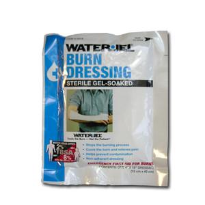 "Water Jel Sterile Burn Dressing, Large 4"" x 16"", case/28"