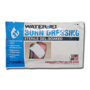 "Water Jel Burn Dressing, 8"" x 18"" Sheets, case/20"