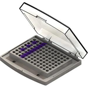 Block, 24 x 2ml AutoSample (HPLC) vials (12x32mm)