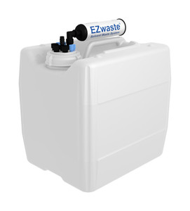 """EZwaste UN/DOT Filter Kit VersaCap S70 4 ports, 3 port and 1 port for 1/4"""" HB or 3/8""""HB with 13.5L Container"""