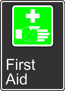"""CSA Safety Sign - First Aid, 14 x 10"""", Pack/10"""