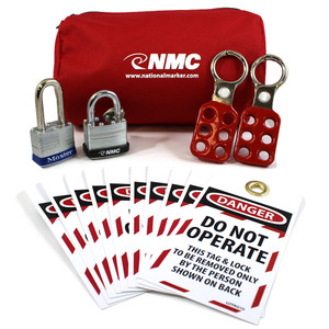 Economy Lockout Kit, Red
