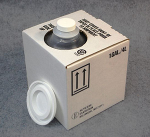 Cubitainer, 1 Gallon (4 Liter) with Carton and Cap, case/10