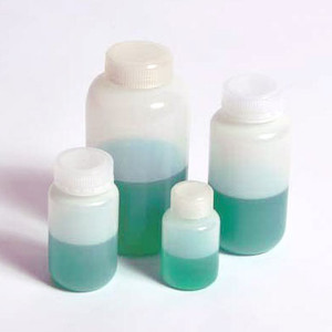 Reagent Bottles, Wide Mouth, HDPE, 250mL, case/250