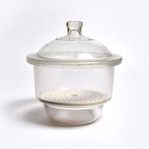 "Desiccator, non-vacuum, Borosilicate Glass, 12"" / 300mm, Each"