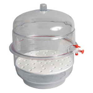 "Vacuum Desiccator, Autoclavable, Clear Base, 8"", Each"