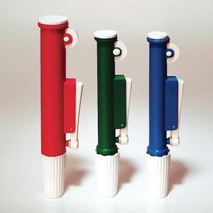 Pipette Pumps, Green, 10mL, case/12