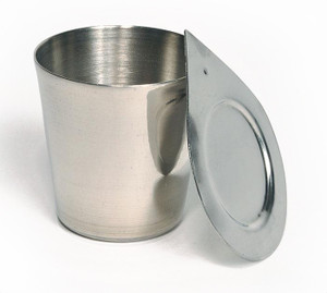 Nickel Crucible with Lid, 100mL, Each