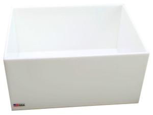 "Lab Tray, HDPE, 12 x 16 x 8"", 25 Liter"
