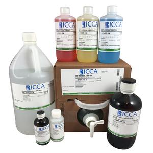 Copper Standard, 5 ppm Cu in dil. HNO3, 4 Liter Plastic Bottle
