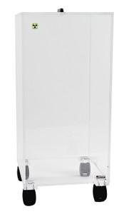 Dynalon Mobile Big Beta Box, casters, Radiation Protection