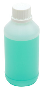 Tamper Evident, Single-Use Bottles, HDPE, 250mL, case/50